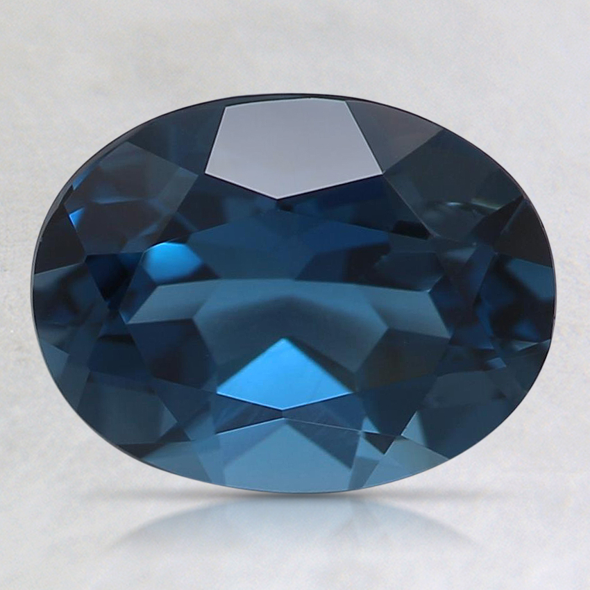 9x7mm London Blue Oval Topaz