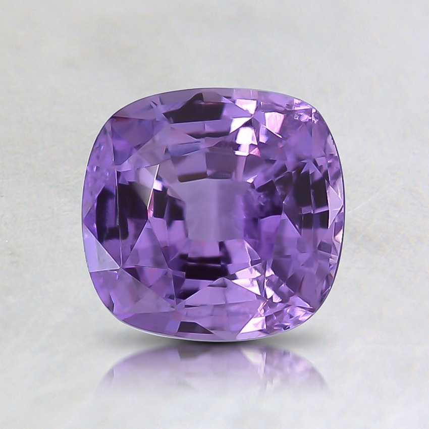 6.3x6.1mm Purple Cushion Sapphire