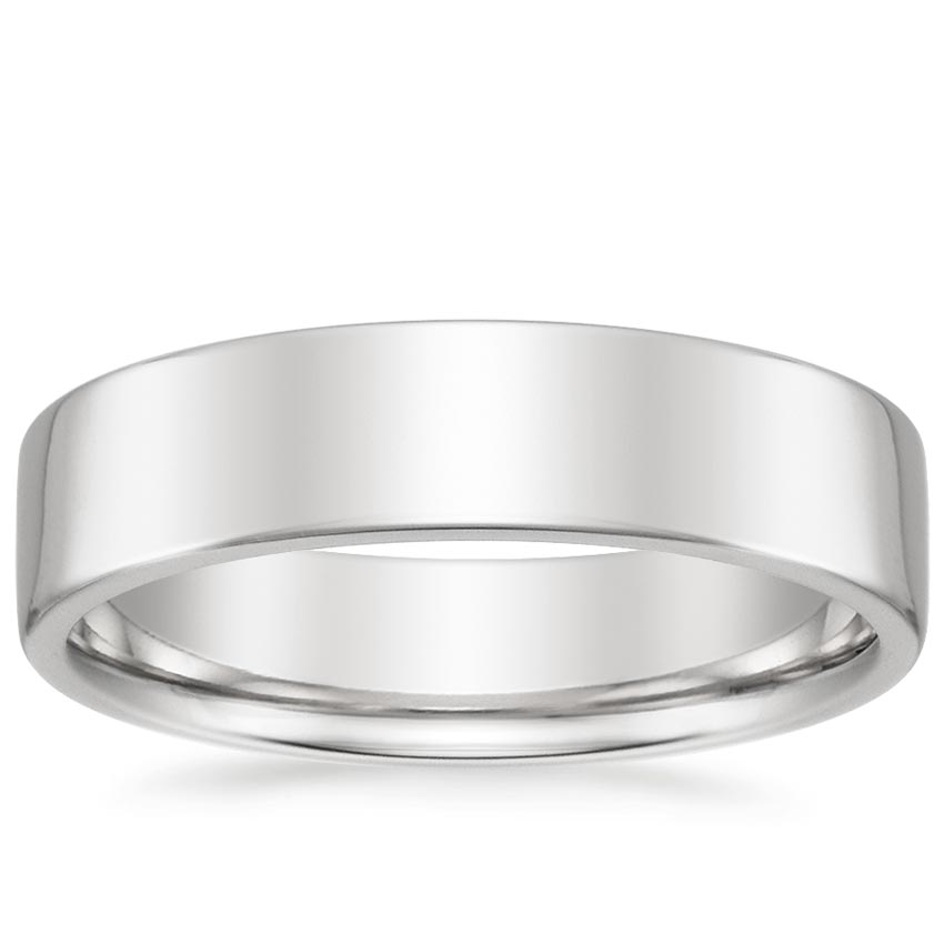 5.5mm Mojave Wedding Ring in Platinum