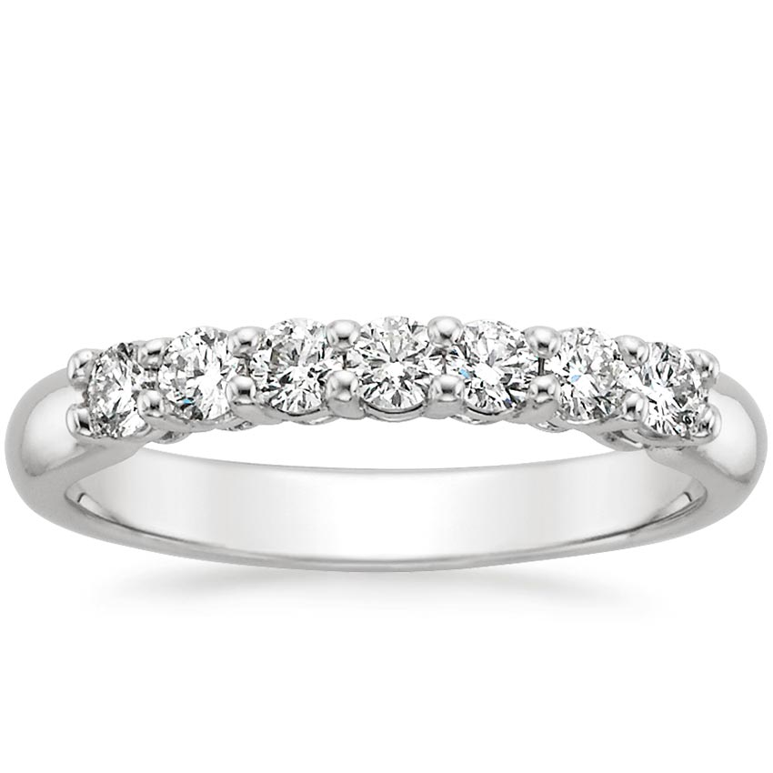 Classic Seven Stone Diamond Ring (2/5 ct. tw.) in 18K White Gold