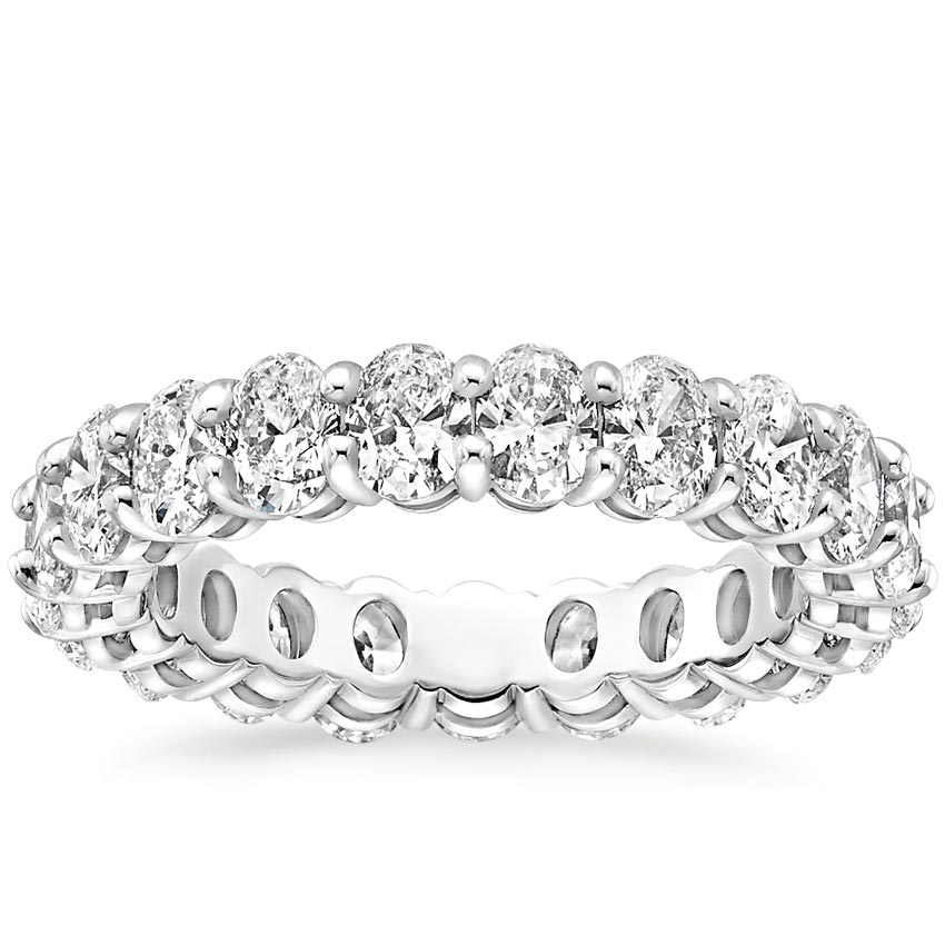 Oval Eternity Diamond Ring (3 ct. tw.)