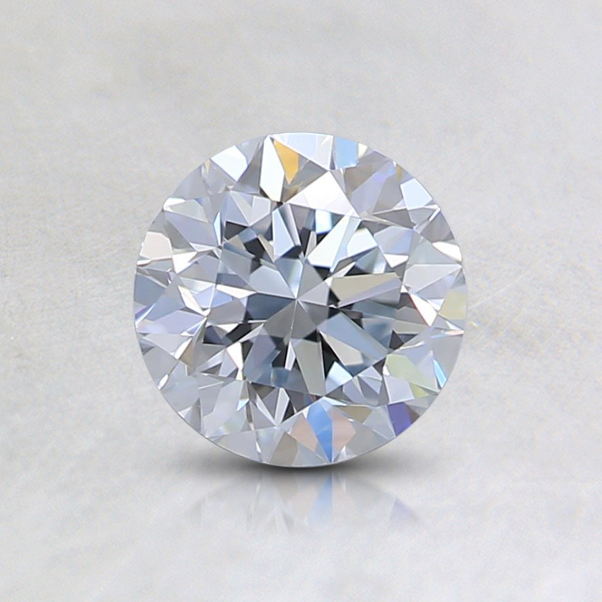 0.70 Ct. Light Blue Round Lab Created Diamond