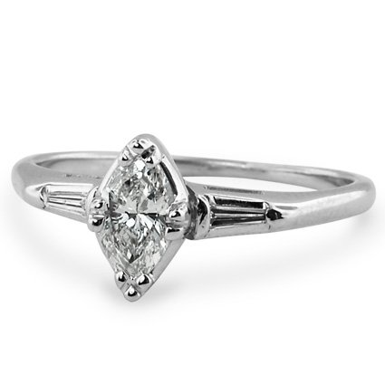 The Joanie Ring, top view