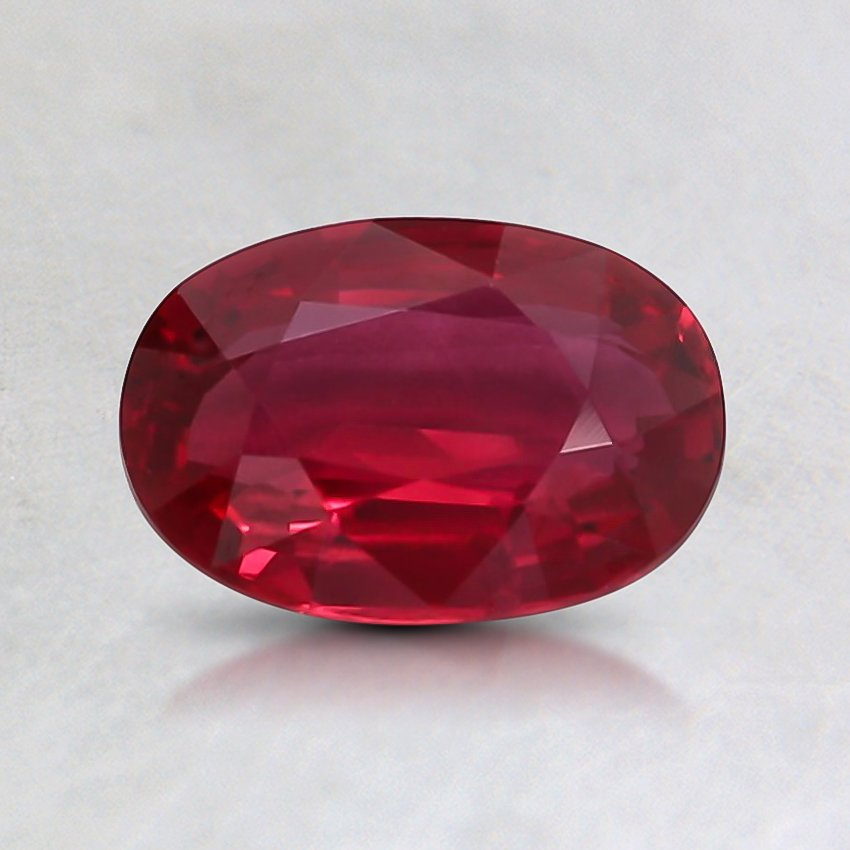7.2x5mm Unheated Oval Ruby