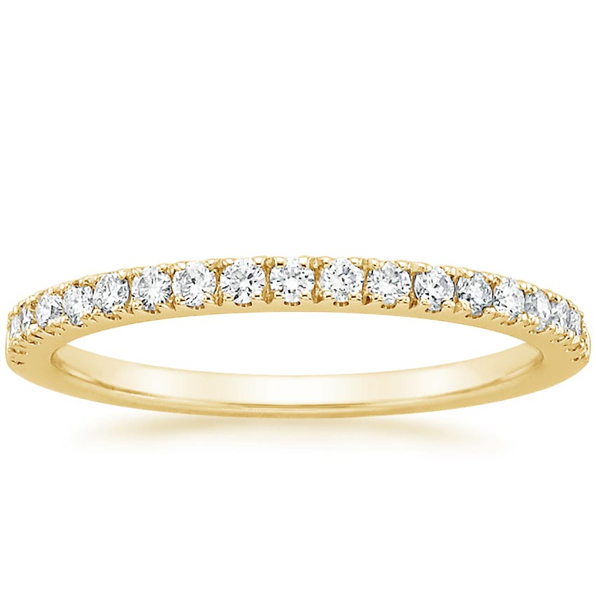 Yellow Gold Bliss Diamond Ring (1/5 ct. tw.)