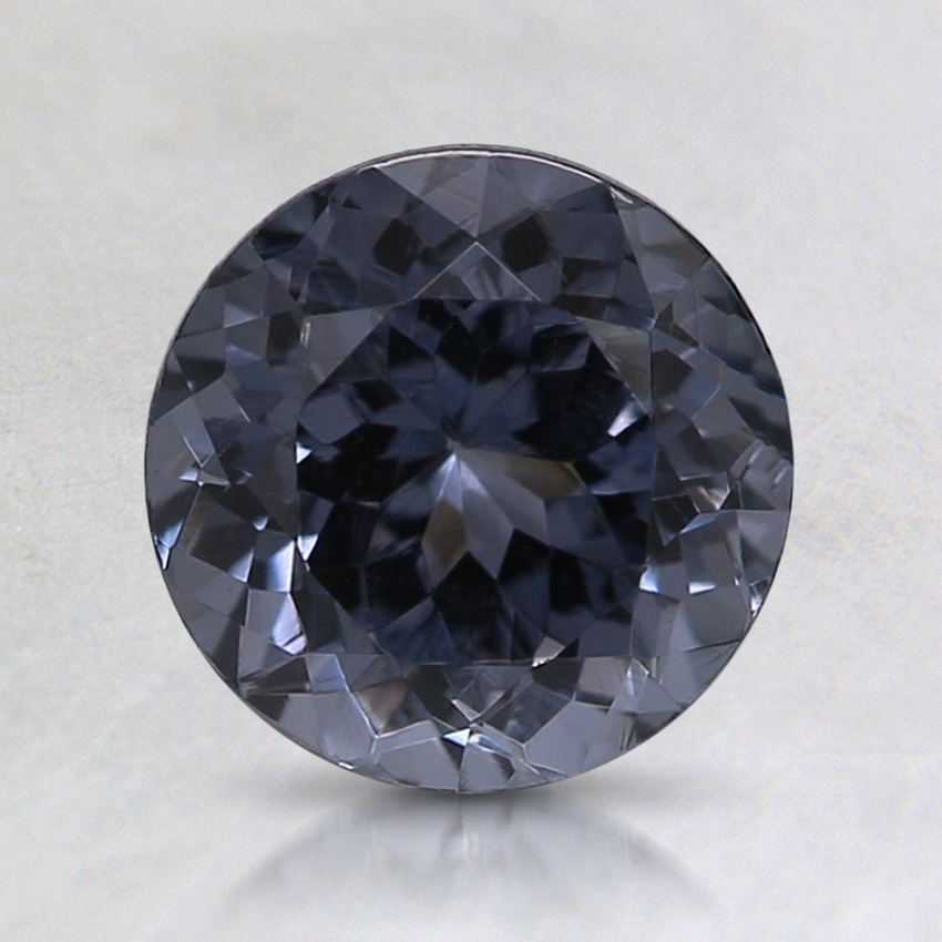 7.1x7mm Gray Round Spinel