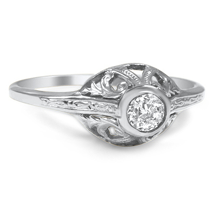 The Fifi Ring, top view