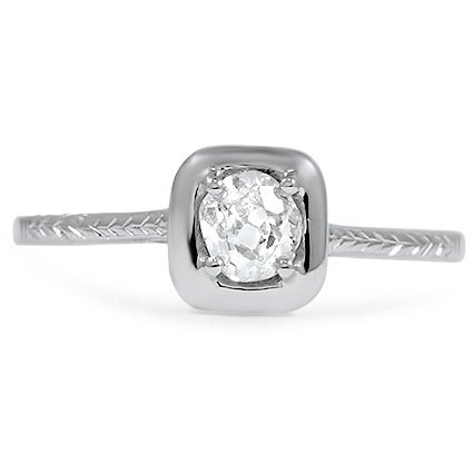 The Rosalba Ring, top view