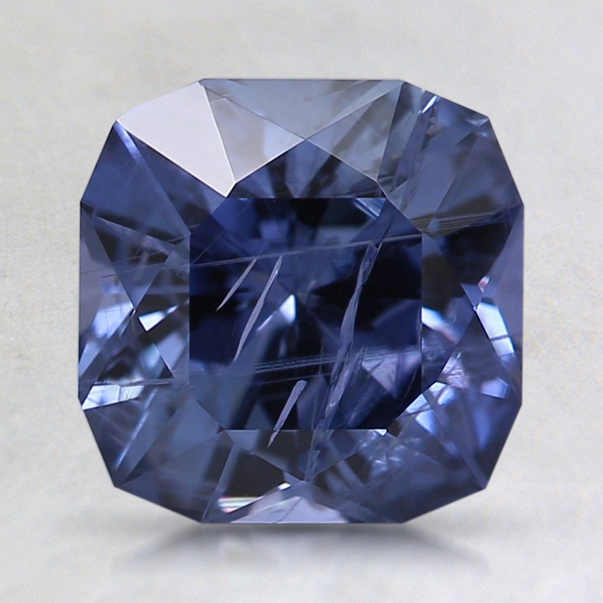 7.6mm Unheated Blue Modified Radiant Sapphire