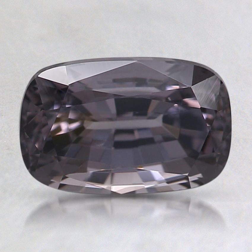 8.6x5.5mm Gray Cushion Spinel