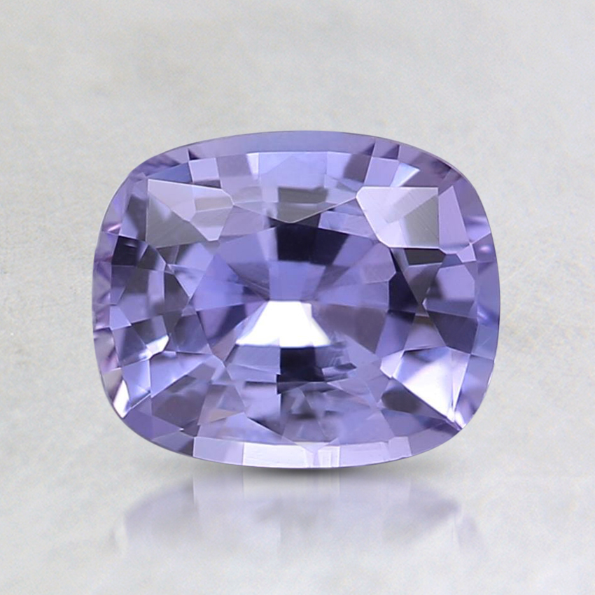 6.9x5.7mm Unheated Purple Cushion Sapphire