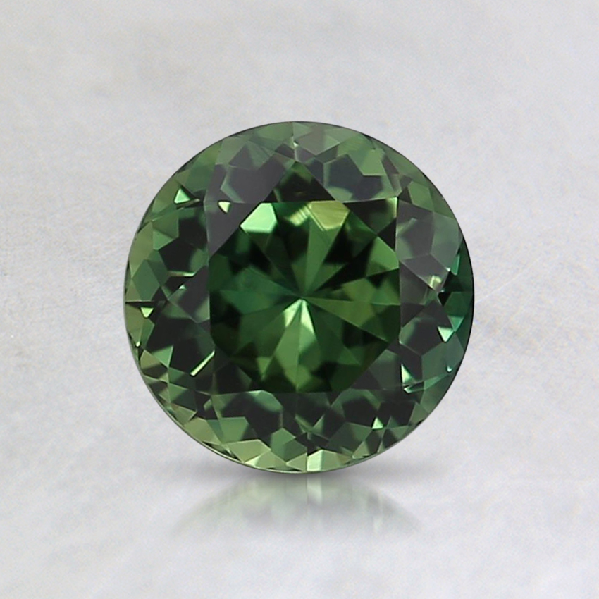 6mm Unheated Green Round Sapphire