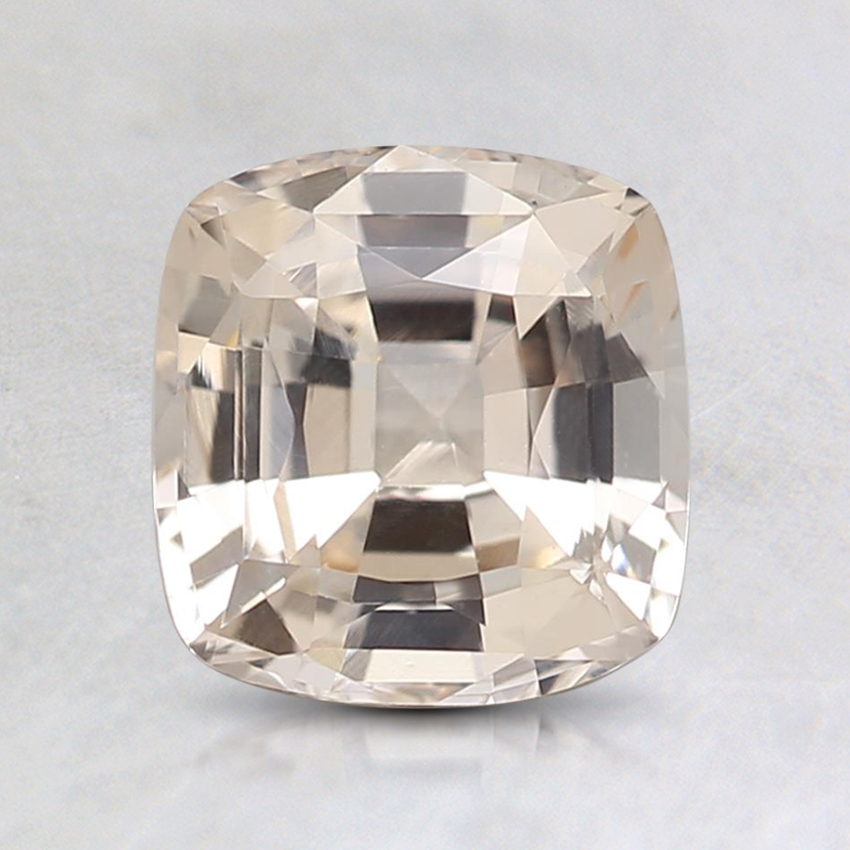 6.8x6.4mm Unheated Peach Cushion Sapphire