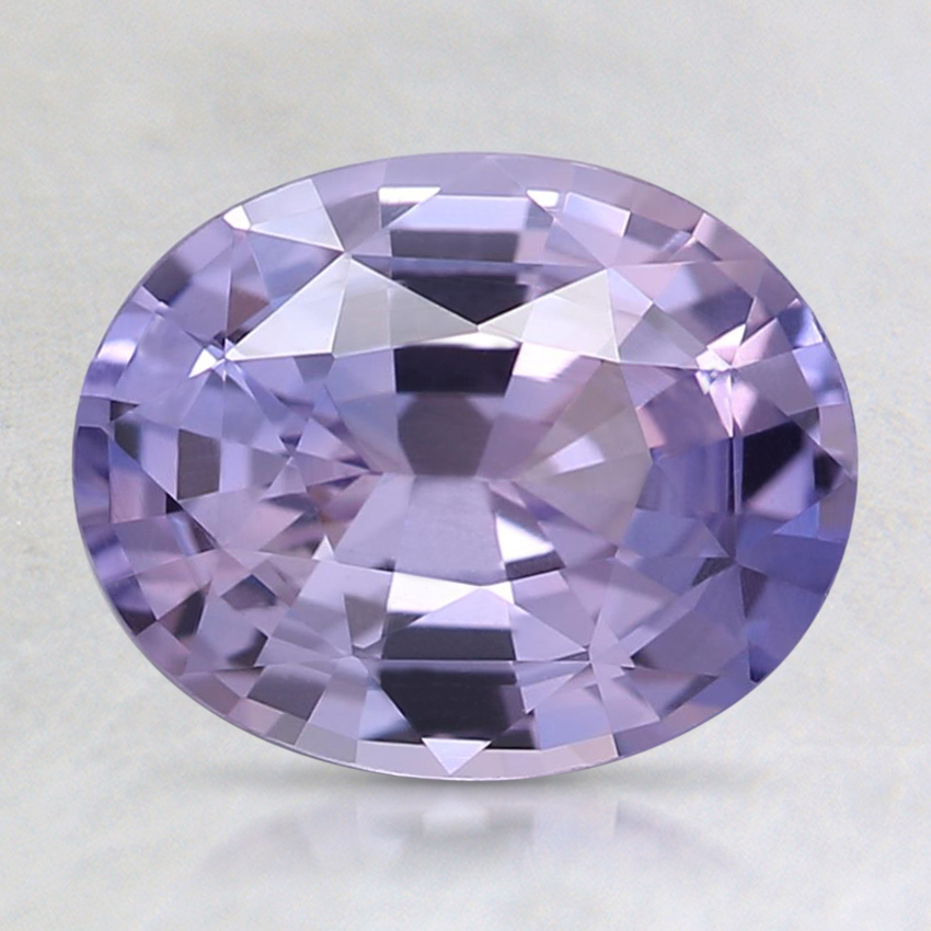 8.6x6.9mm Unheated Purple Oval Sapphire