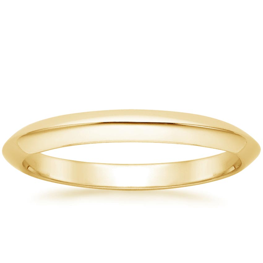 Yellow Gold Classic Wedding Ring
