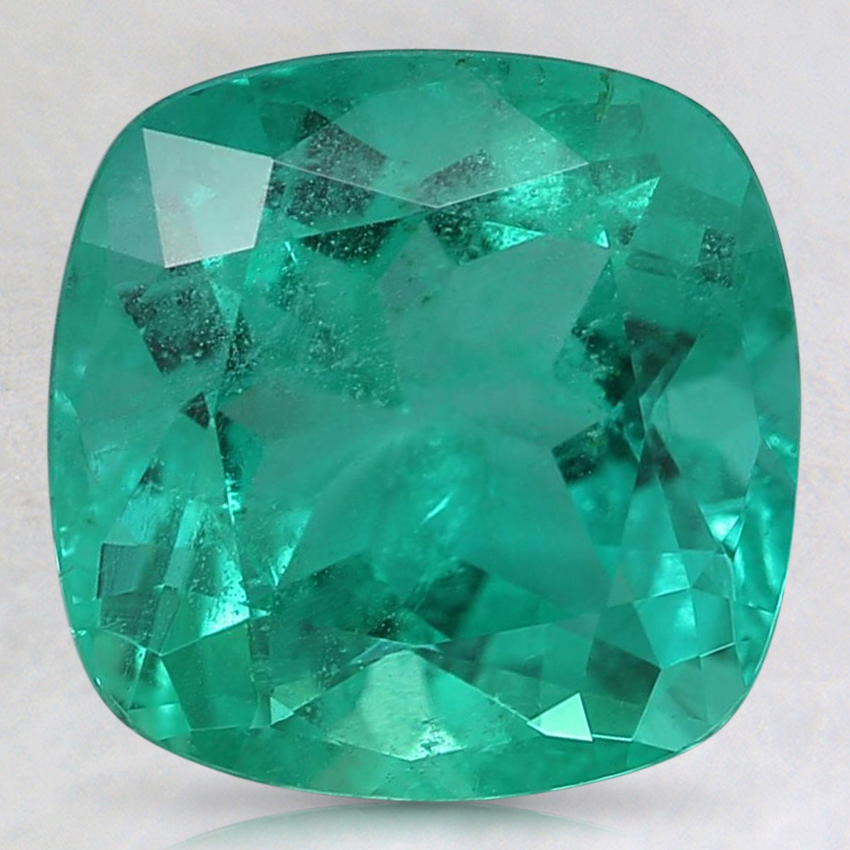 9mm Super Premium Cushion Emerald