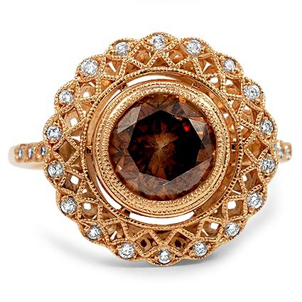 The Tahlia Ring, top view