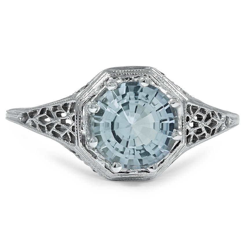 Edwardian Aquamarine Vintage Ring