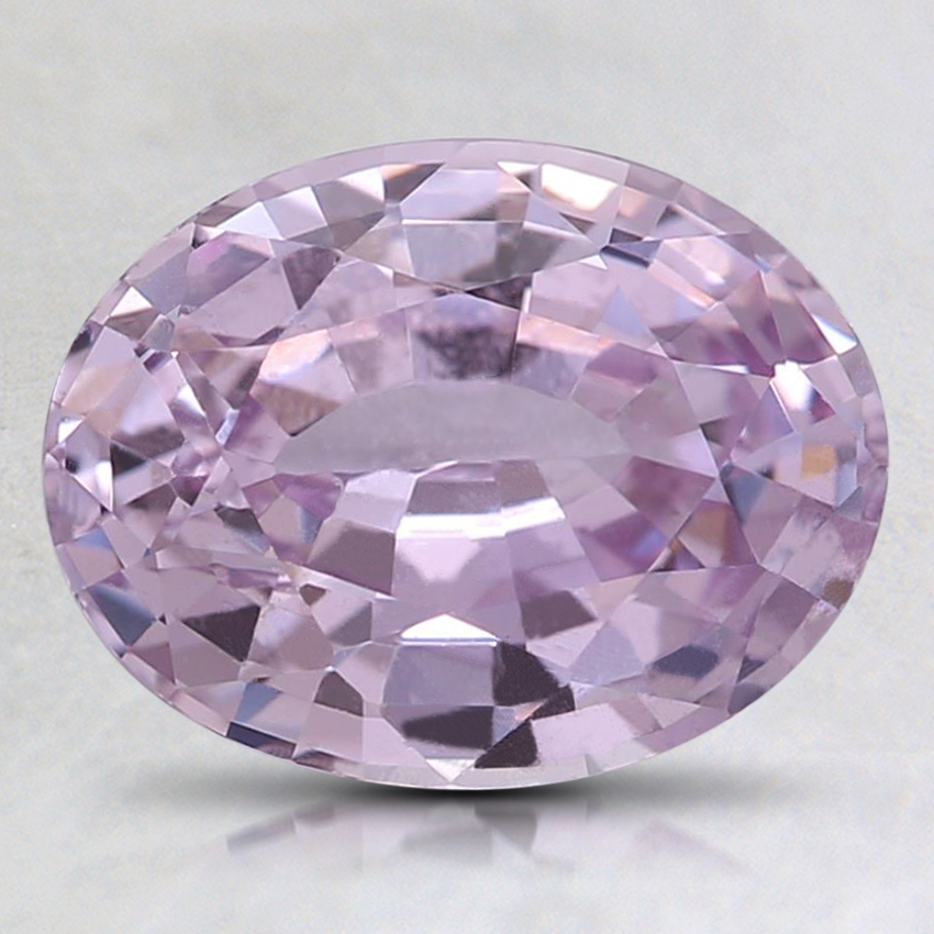 9.1x7mm Unheated Pink Oval Sapphire