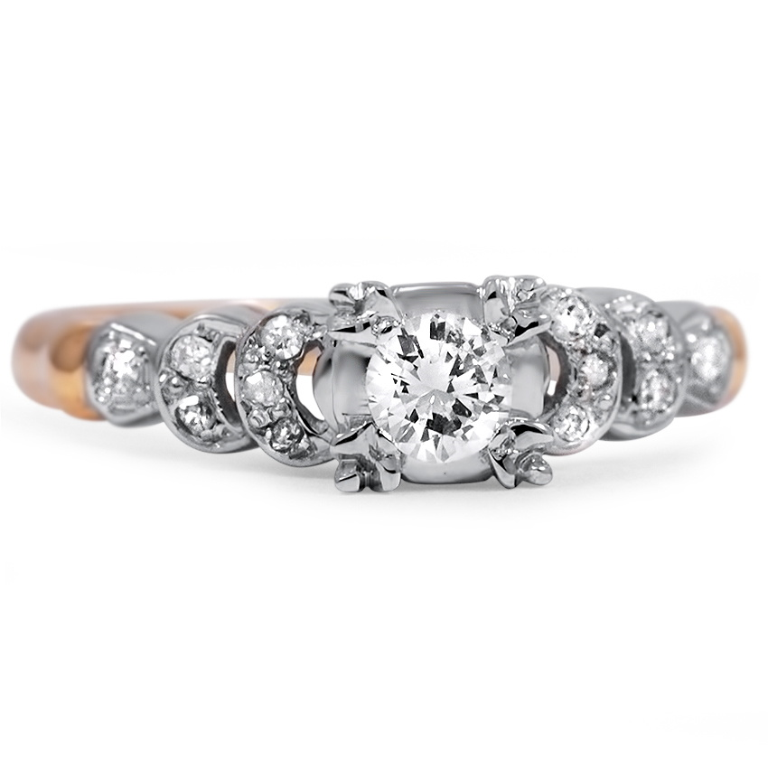 rings engagement radiant jewelry ring diamond carat platinum and half fine image moon