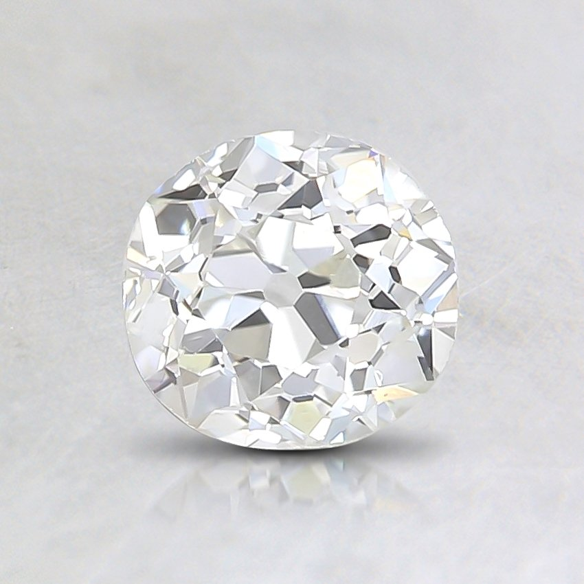 0.61 Ct., J Color, VS1, Old European Cut Diamond