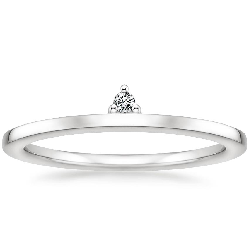 Etan Diamond Ring in 18K White Gold