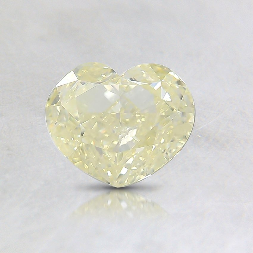 1.00 Ct. Fancy Yellow Heart Diamond