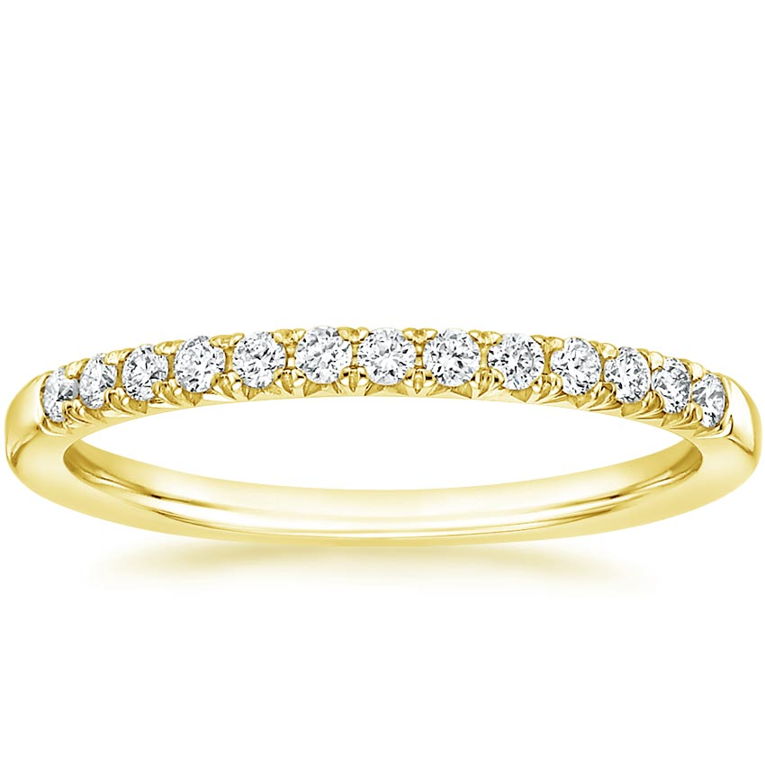 Yellow Gold Adela Diamond Ring