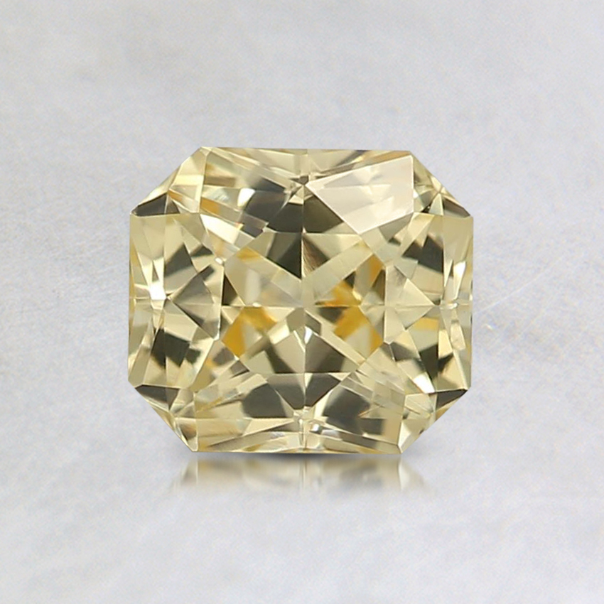 5.9x5.2mm Unheated Yellow Radiant Sapphire