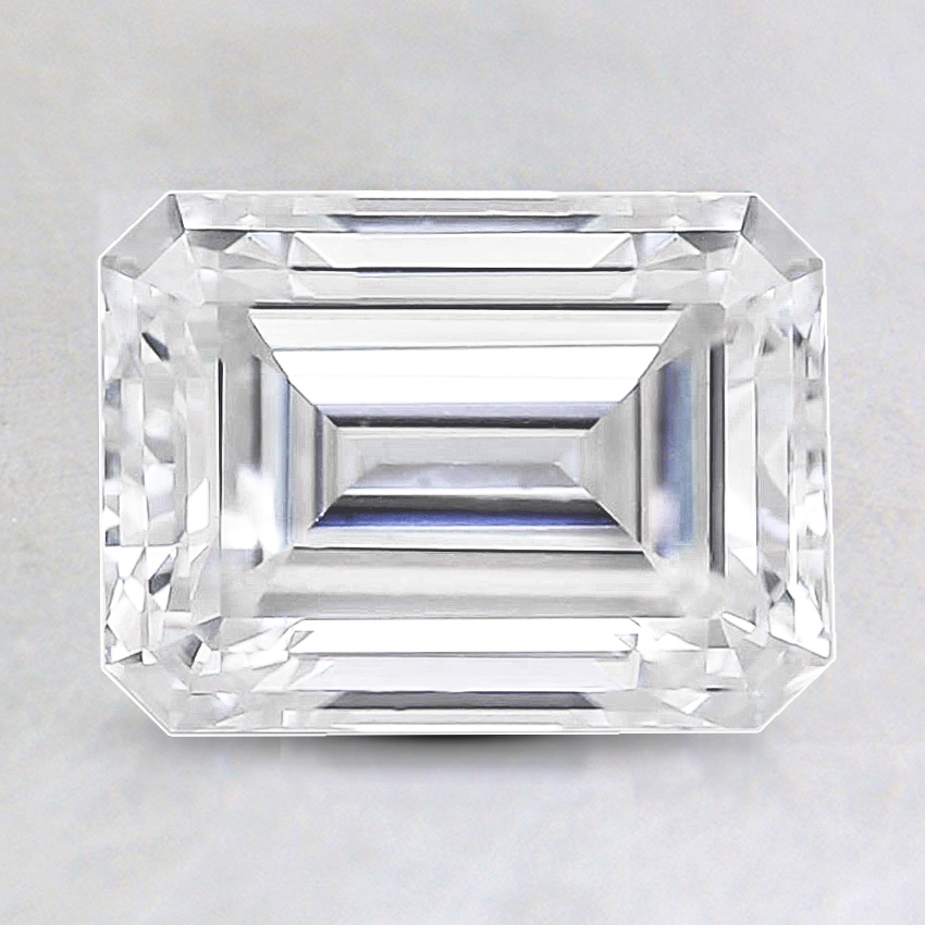 8x6mm Super Premium Emerald Moissanite
