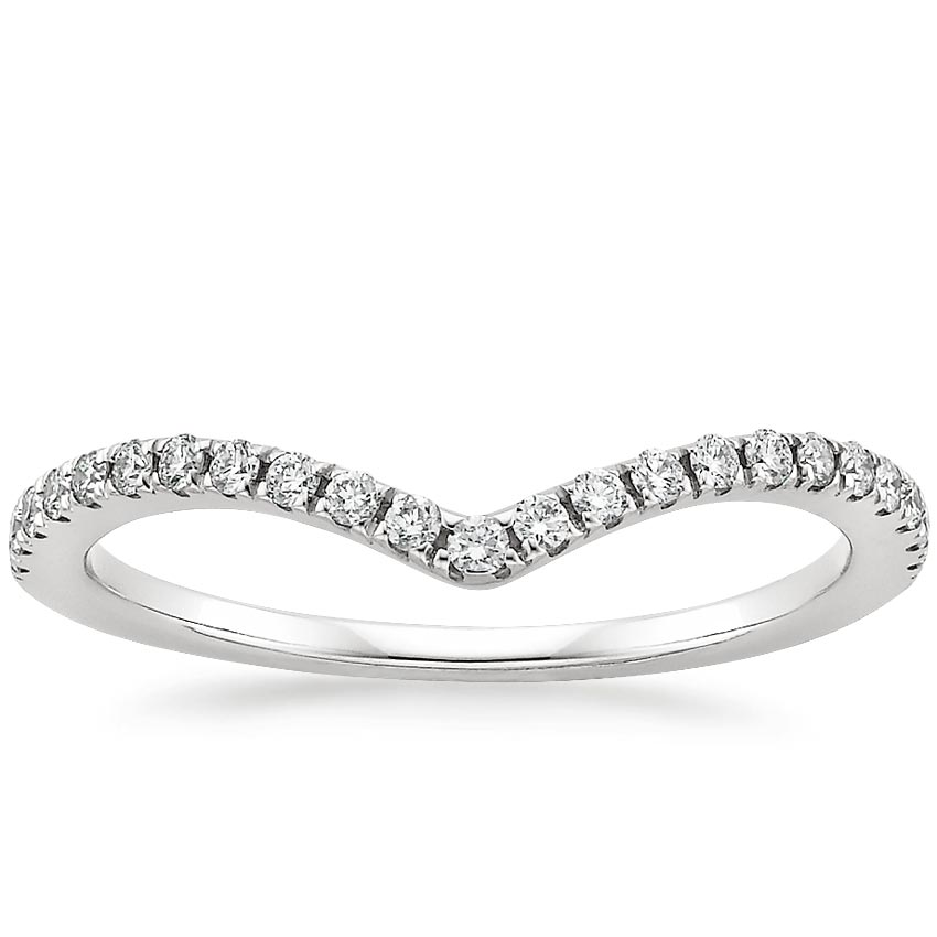 Flair Diamond Ring (1/6 ct. tw.) in Platinum