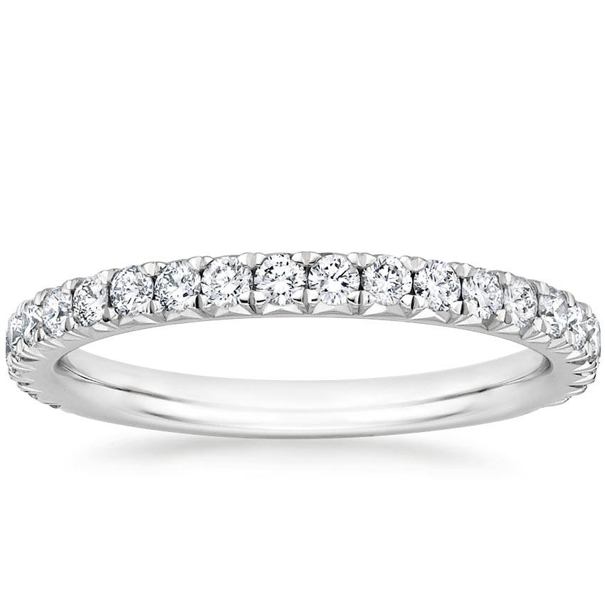 Luxe French Pavé Diamond Ring
