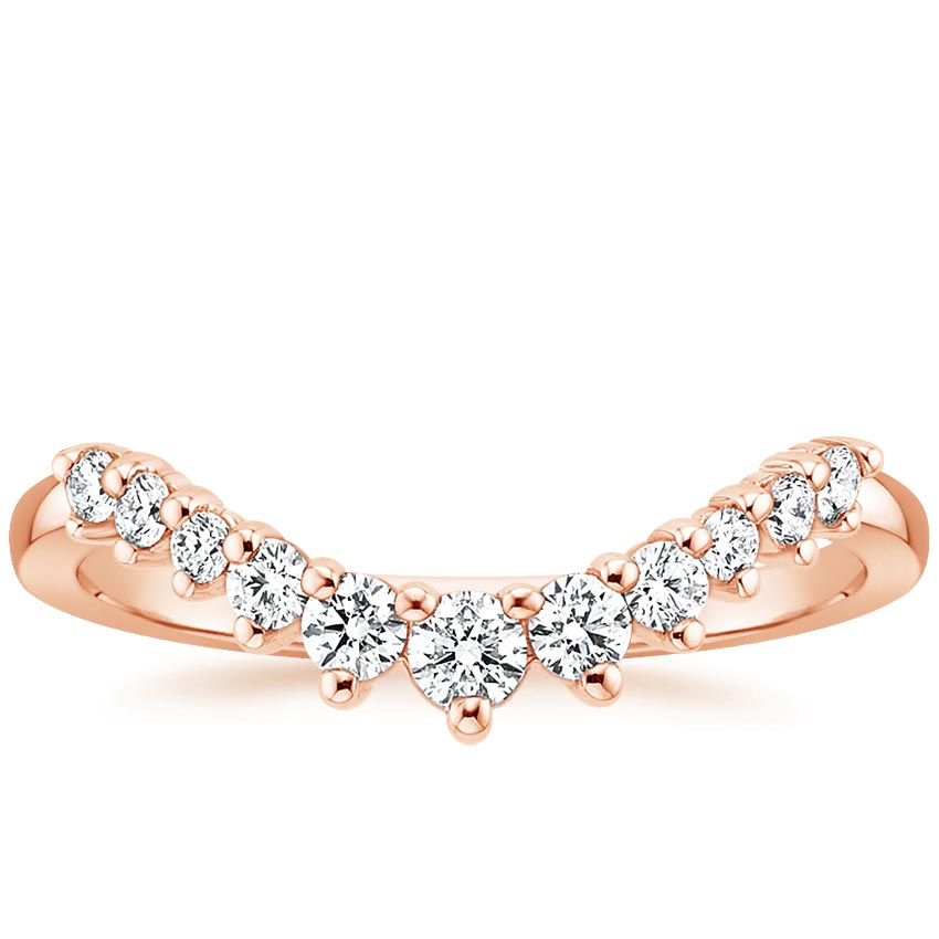 Rose Gold Lucia Diamond Ring (1/4 ct. tw.)