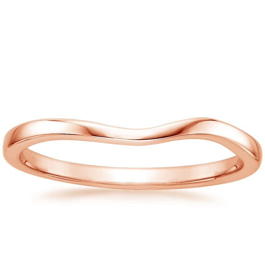 Rose Gold Grace Contoured Ring