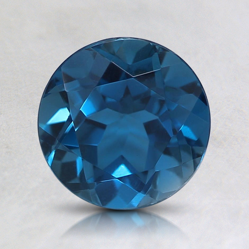 7mm London Blue Round Topaz