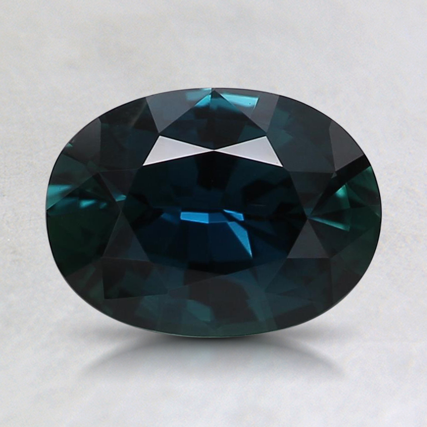 8x6mm Teal Oval Sapphire