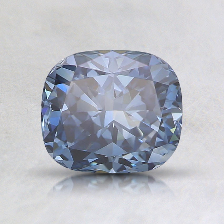 1.01 Ct. Fancy Blue Cushion Lab Created Diamond