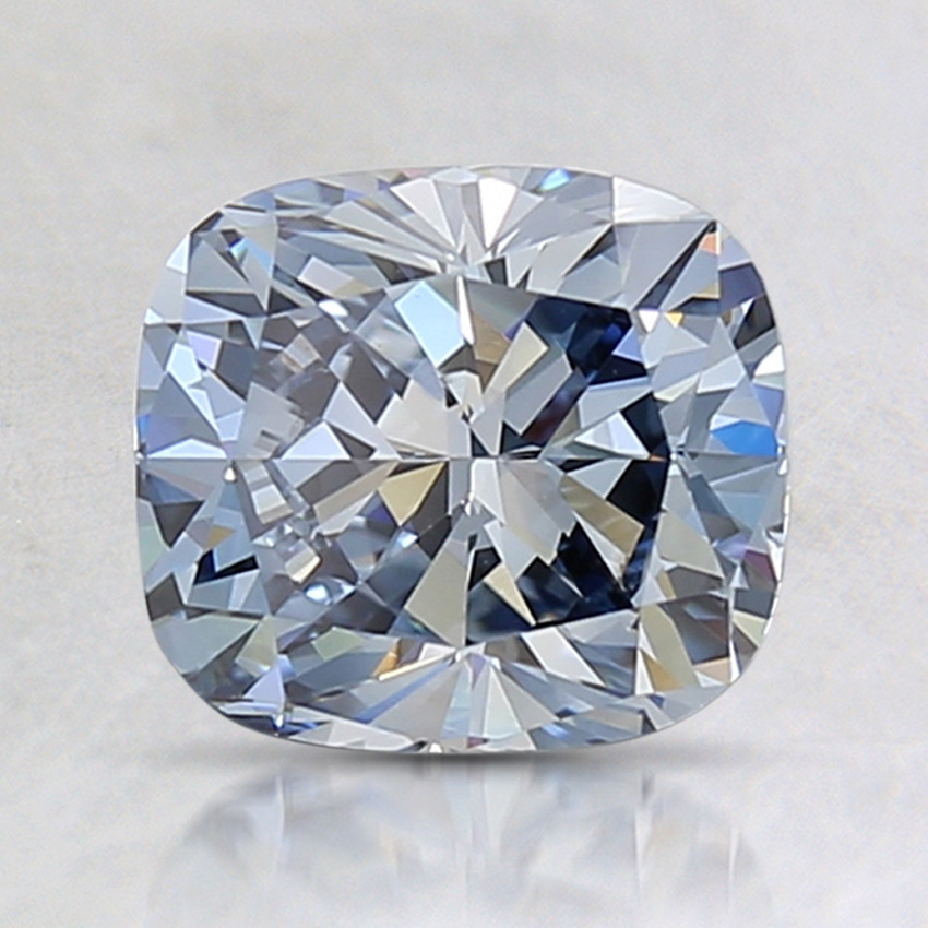 1.56 Ct. Fancy Blue Cushion Lab Created Diamond