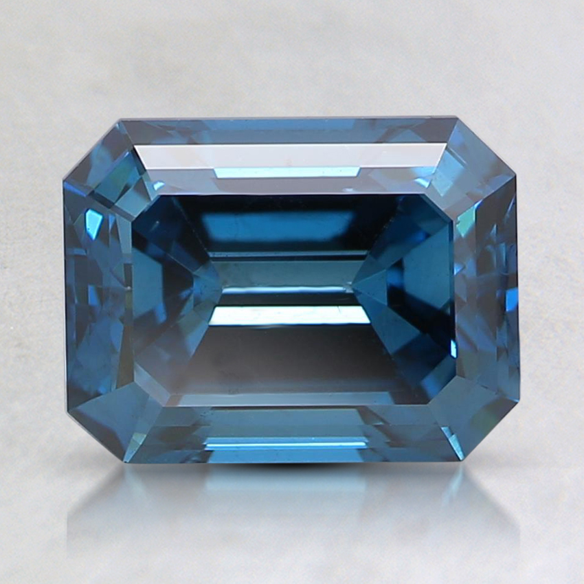 1.95 Ct. Fancy Deep Blue Emerald Lab Created Diamond