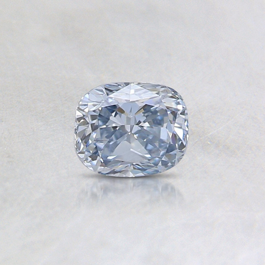 0.32 Ct. Blue Cushion Lab Created Diamond
