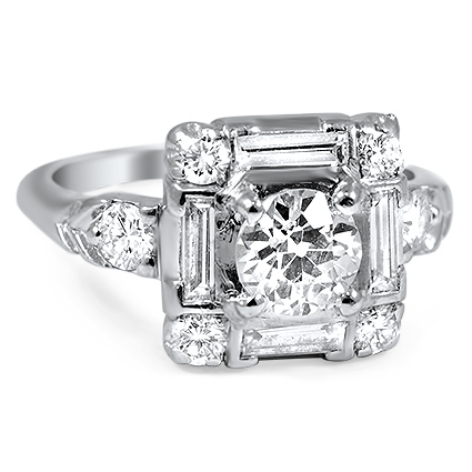 The Lotte Ring, top view