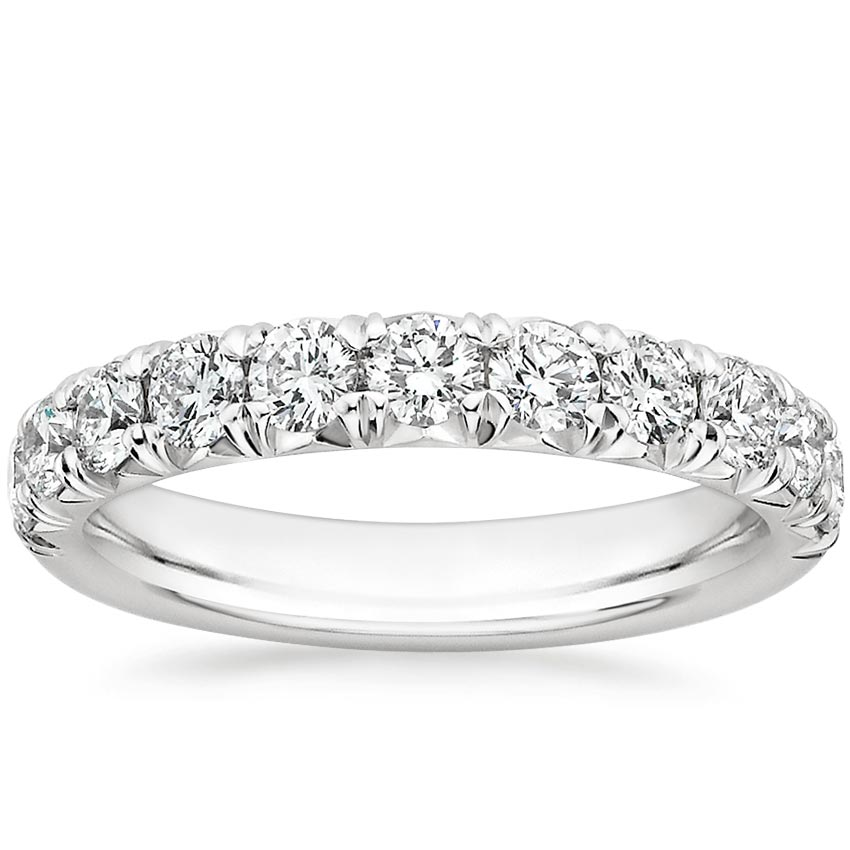 Stunning Pavé Lab Diamond Ring