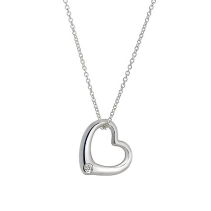 Top Twenty Gifts - SILVER HEART PENDANT