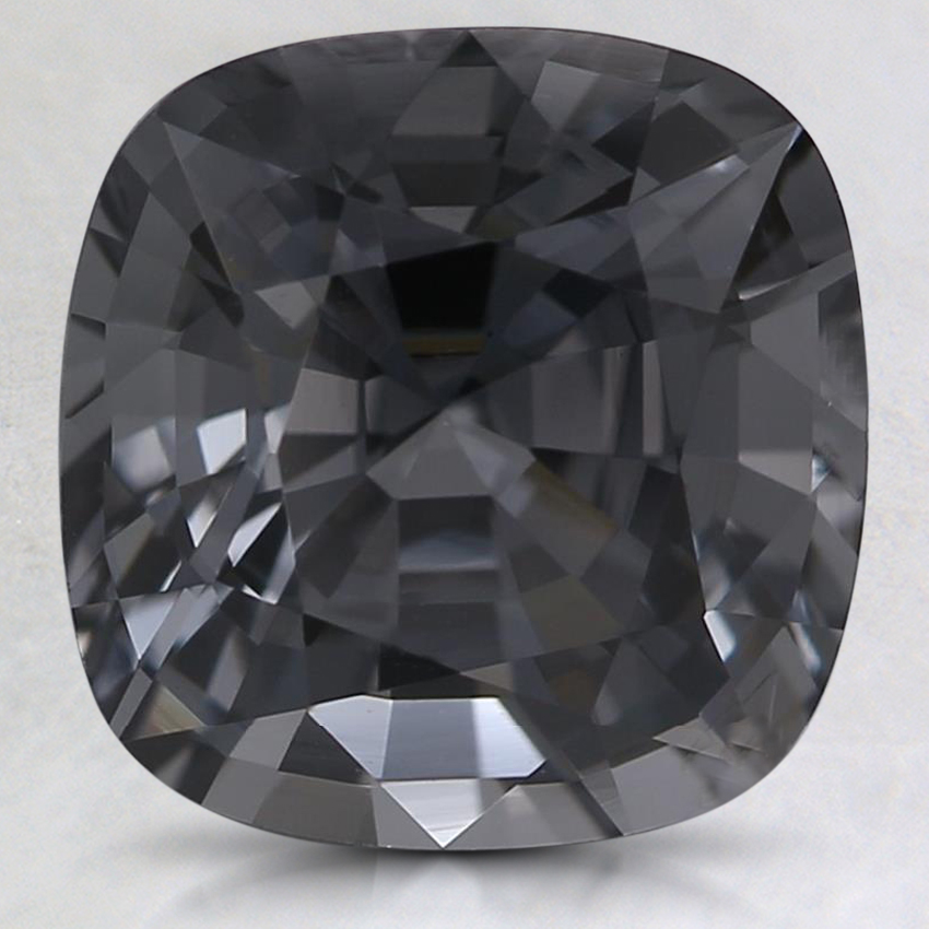 9x8.7mm Premium Gray Cushion Spinel