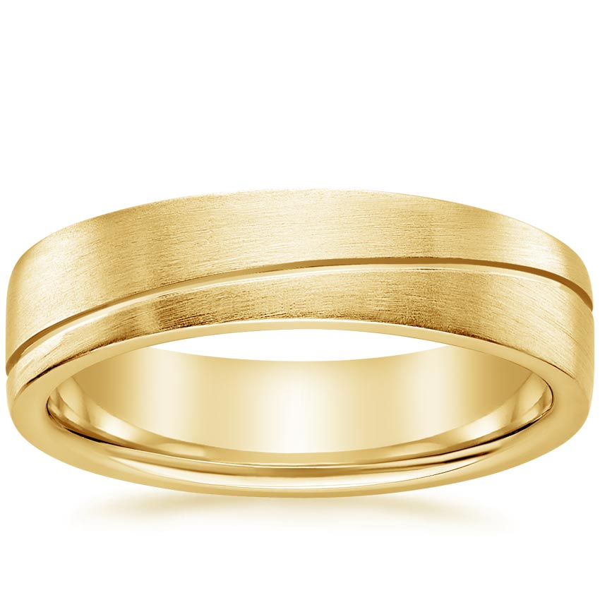 Yellow Gold Phoenix Wedding Ring
