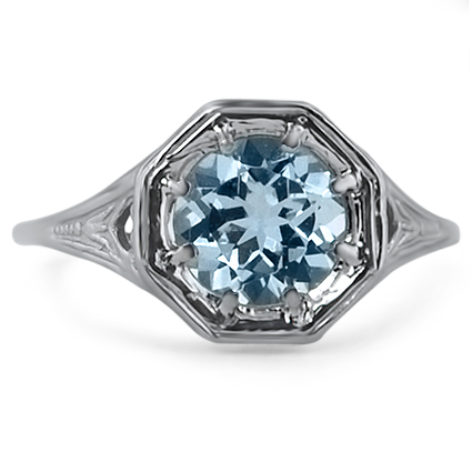 The Lorenza Ring, top view