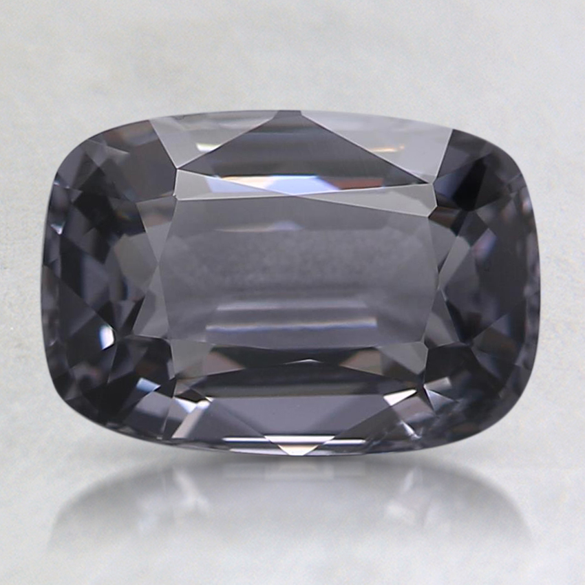 8.7x6mm Gray Cushion Spinel