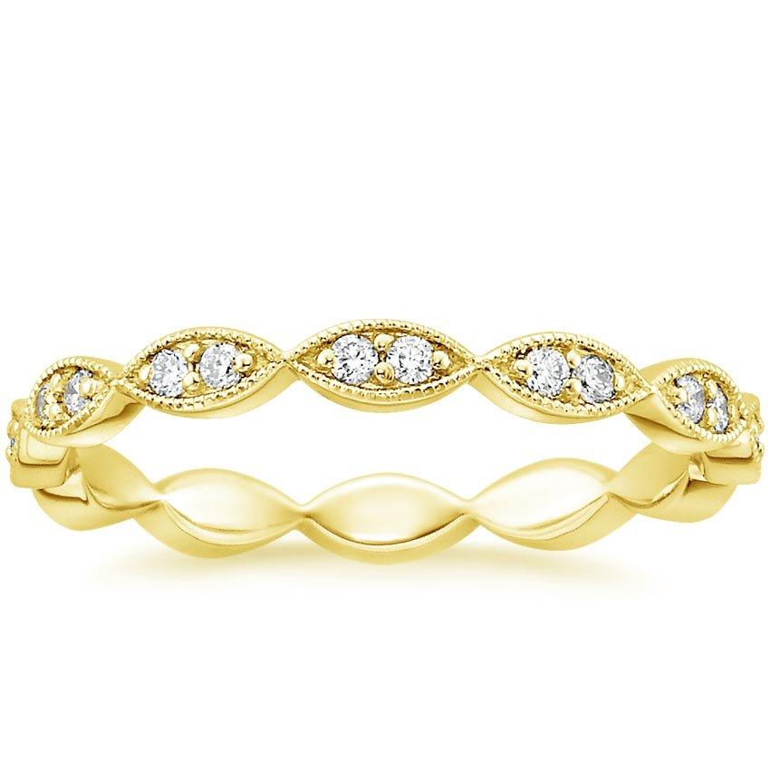 cadenza eternity diamond ring 14 ct tw in 18k yellow gold