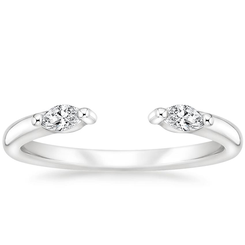 Open Marquise Diamond Ring