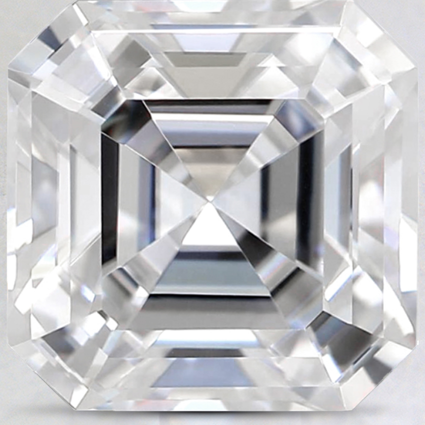 10mm Super Premium Asscher Moissanite